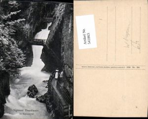 541863,Sigmund Thunklamm i. Kaprunertal Kaprun Sigmund-Thun-Klamm