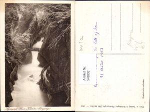 541892,Sigmund Thumklamm Eingang i. Kaprunertal Kaprun Sigmund-Thun-Klamm