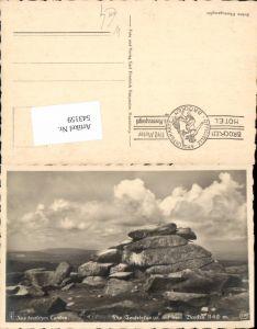 543159,Teufelskanzel b. Brocken Schierke Harz