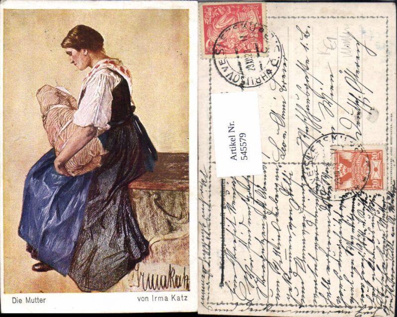 545579,Künstler AK Irma Katz Kinder Kind Mutter Baby
