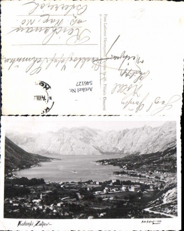 546127,Foto-AK Montenegro Serbia Kotor Zalijev