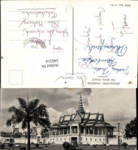 546314,Cambodia Phnom Penh The Royal Place