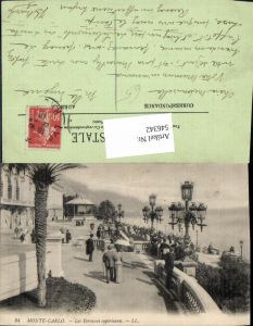 546342,Monte Carlo Monaco Les terrasses superieures Laterne pub LL 84