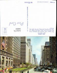 546804,New York City Park Avenue VW Käfer Cabrio Autos Oldtimer