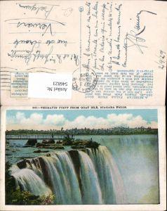 546823,New York Niagara Falls from Goat isle
