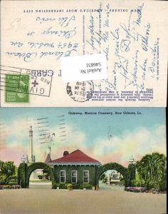 546831,Louisiana New Orleans Gateway Metairie Cemetery Friedhof