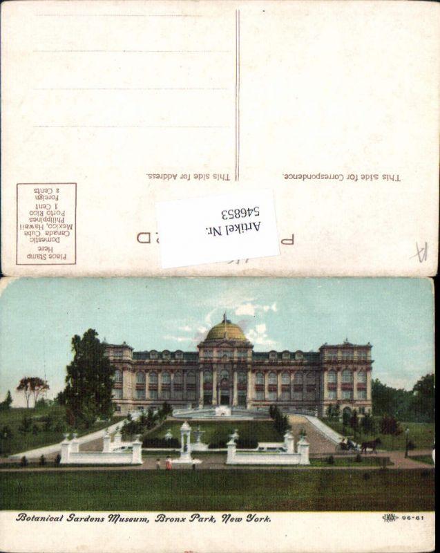 546853,New York City Bronx Park Botanical Gardens Museum