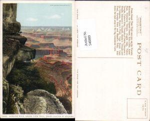 546889,Arizona Grand Canyon Hanging Rock Grand View Trail