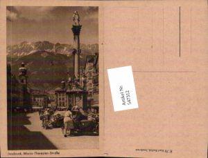 547312,Innsbruck Maria Theresienstrasse Beiwagen Seitenwagen Motorrad