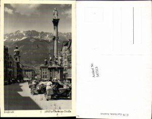 547313,Innsbruck Maria Theresienstrasse Beiwagen Seitenwagen Motorrad