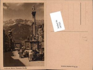 547321,Innsbruck Maria Theresienstrasse Seitenwagen Motorrad Beiwagen