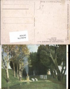 547430,Künstler AK Arnold Böcklin Heiliger Hain