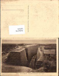 547676,Deutsche Armee Vimy Deutscher Schützengraben Trench Stellung