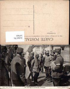 547683,Deutsche Armee POW Pickelhaube Kriegsgefangene Deutsche