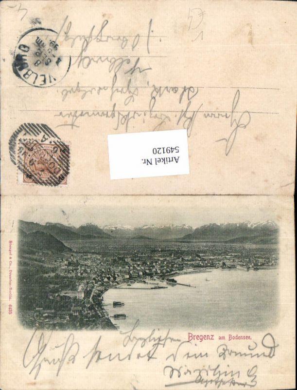 549120,Bregenz am Bodensee um 1900 pub Stengel & Co. 6435