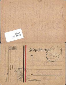 549365,Deutsche Feldpost n. Hildburghausen Patriotik