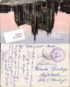 549381,Deutsche Feldpost Rh. Fussart. Reg. 8 n. Viehbach Odenbach