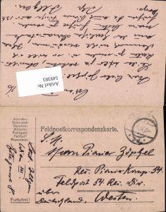 549383,Deutsche Feldpost Pioniere Komp. 54