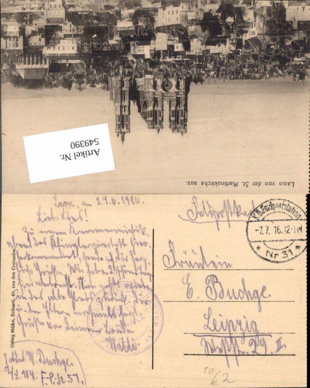 549390,Deutsche Feldpost Feldpoststation 31 n. Leipzig