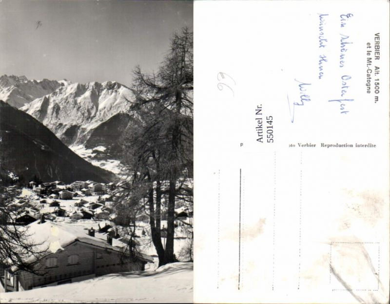 550145,Verbier Bagnes Entremont KT Wallis