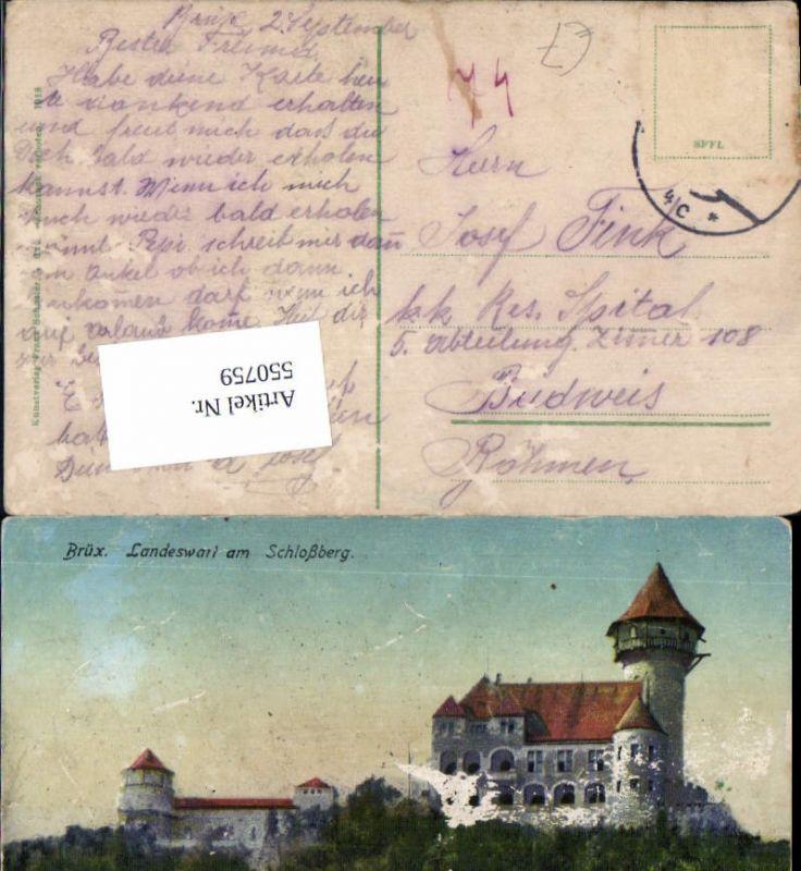 550759,Tschechien Brüx Landeswart am Schlossberg