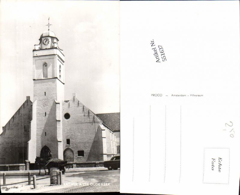 551637,Katwijk am Zee oude Kerk Kirche