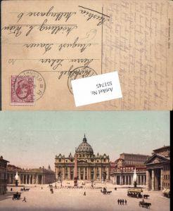 551745,Vatikan Vaticano Rom Roma Petersdom Petersplatz