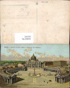 551747,Vatikan Vaticano Rom Roma Petersdom Petersplatz