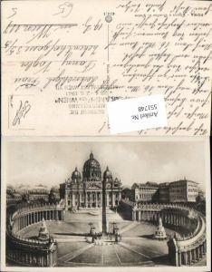 551748,Vatikan Vaticano Rom Roma Petersdom Petersplatz Obelisk