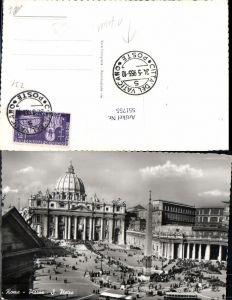 551755,Vatikan Vaticano Rom Roma Petersdom Petersplatz Bus Autobus