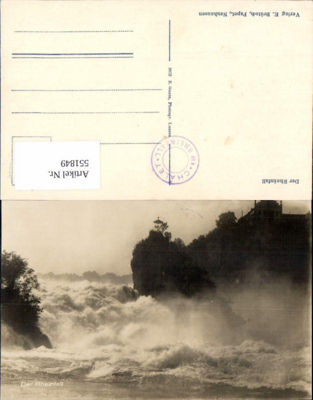 551849,Rheinfall Laufen Schaffhausen Neuhaus Wasserfall