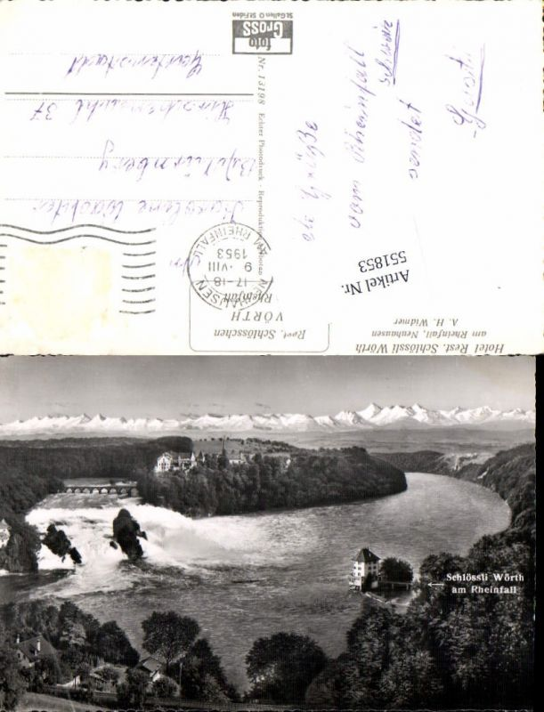 551853,Rheinfall Laufen Schaffhausen Neuhaus Wasserfall