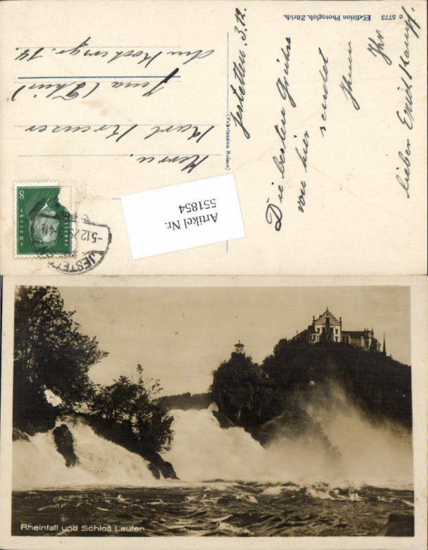 551854,Rheinfall Laufen Schaffhausen Neuhaus Wasserfall