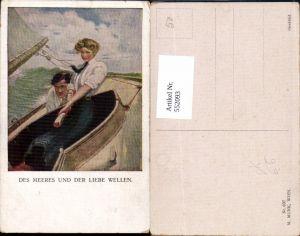 552093,Künstler AK Munk Vienne 837 Clarence F. Underwood Boot