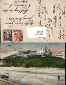552156,Slovakia Hohe Tatra Tatry Strbske pleso