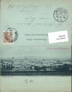 552350,Mond Lithographie Kremsier Kromeriz 1898
