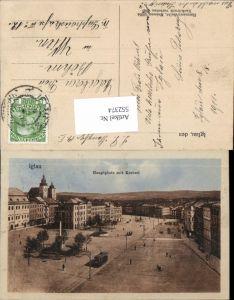 552374,tolle AK Iglau Jihlava Hauptplatz Kretzel Hochland Mähren