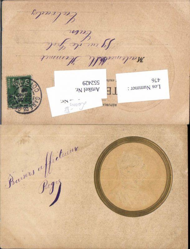 552429,Louis IV. Frankreich France Präge Litho Rio de France