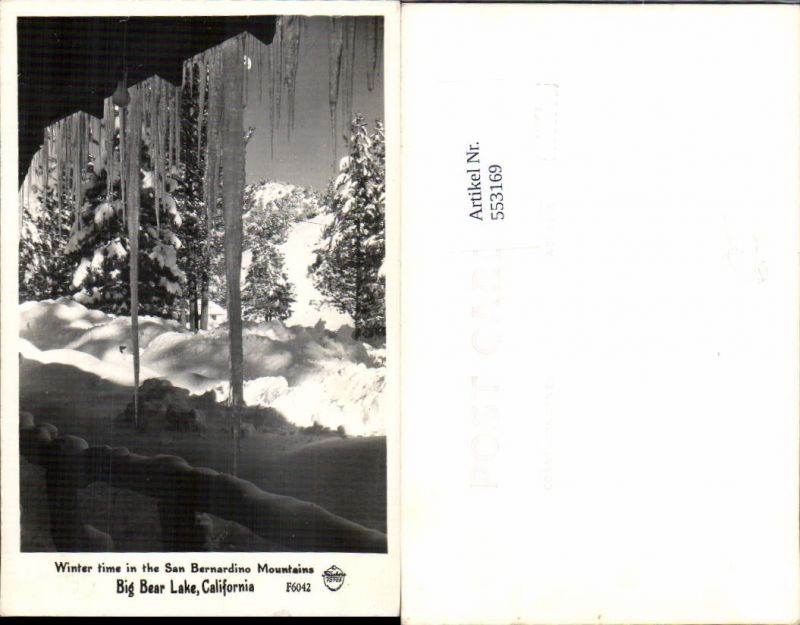 553169,California San Bernardino Mountains Big Bear Lake