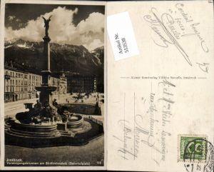 553538,Innsbruck Bahnhofplatz Südtirolerplatz Brunnen