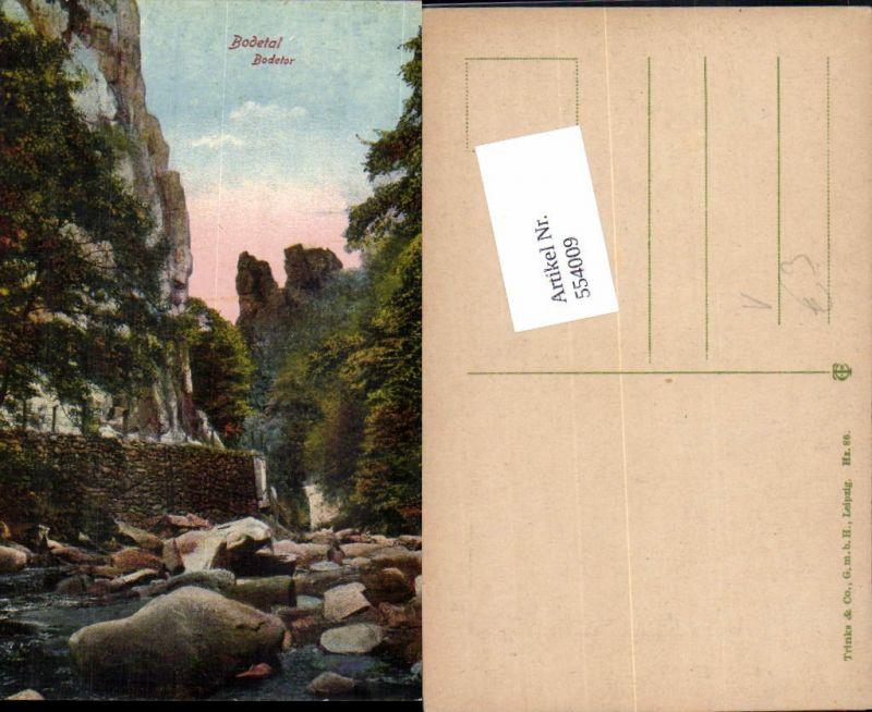 544009,Thale im Harz Bodetal Bodetor