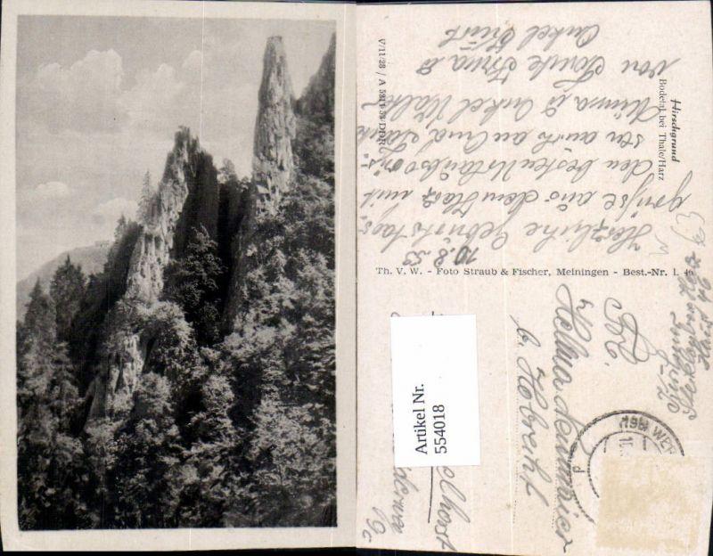 544018,Thale im Harz Bodetal Hirschgrund