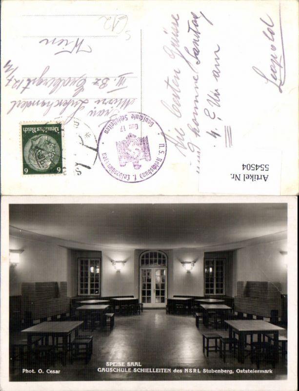554504,Gauschule Schielleiten bei Stubenberg NSRL Stp. Reichsbund Leibesübungen Gau 17