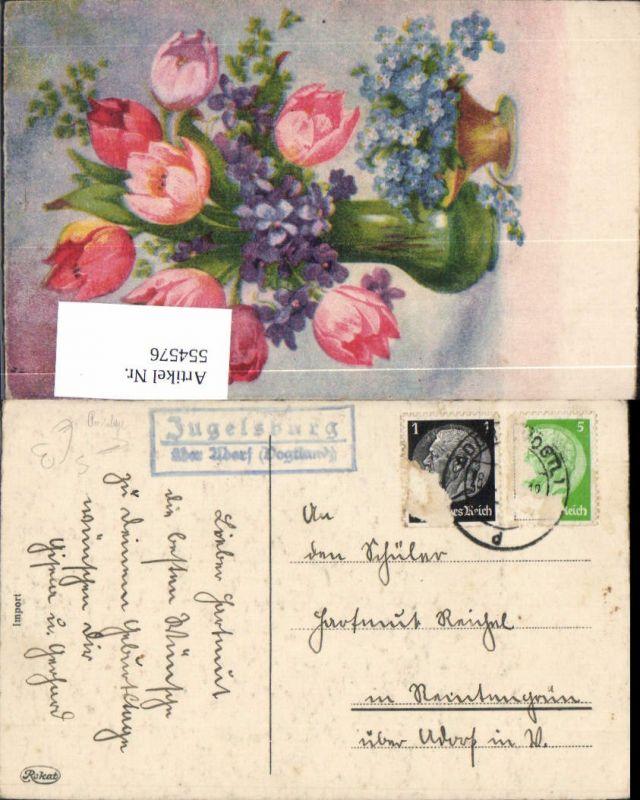 554576,Stempel Posthilfsstelle Jugelsburg b. Adorf Vogtland
