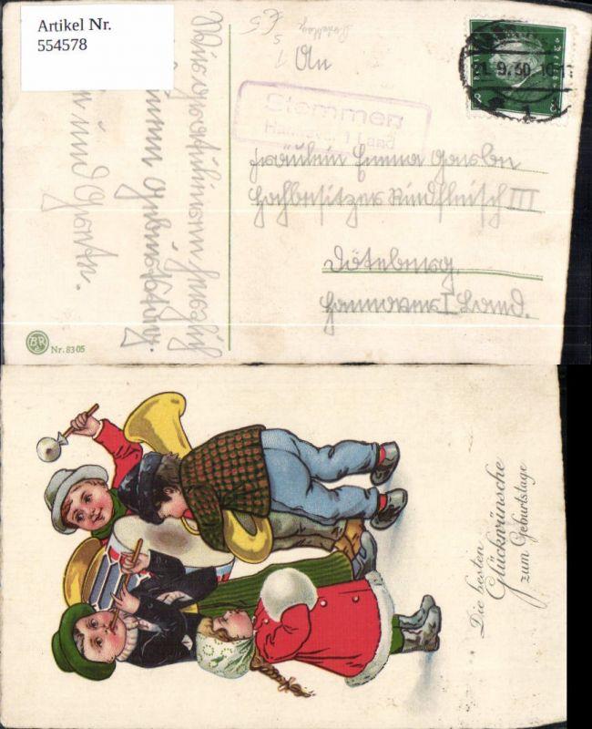 554578,Stempel Posthilfsstelle Stemmen Hannover Land Kinder Geburtstag