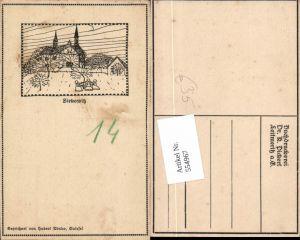 554967,tolle Künstler AK Zirkowitz Cirkvice Aussig Usti nad labem