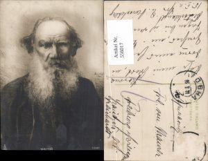 556017,tolle AK Graf Leo Tolstoi Kunst Russland Russia