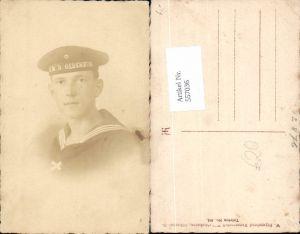 557036,tolle Foto-AK Matrose S.M.S. Oldenburg Seemann Uniform Marine Kriegsmarine pub Feyerabend Wilhelmshaven