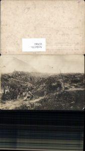 557061,Foto-AK Deutsche Armee Schützengräben Stellung Soldaten Infanterie Wolhynien Lwiw Luzk