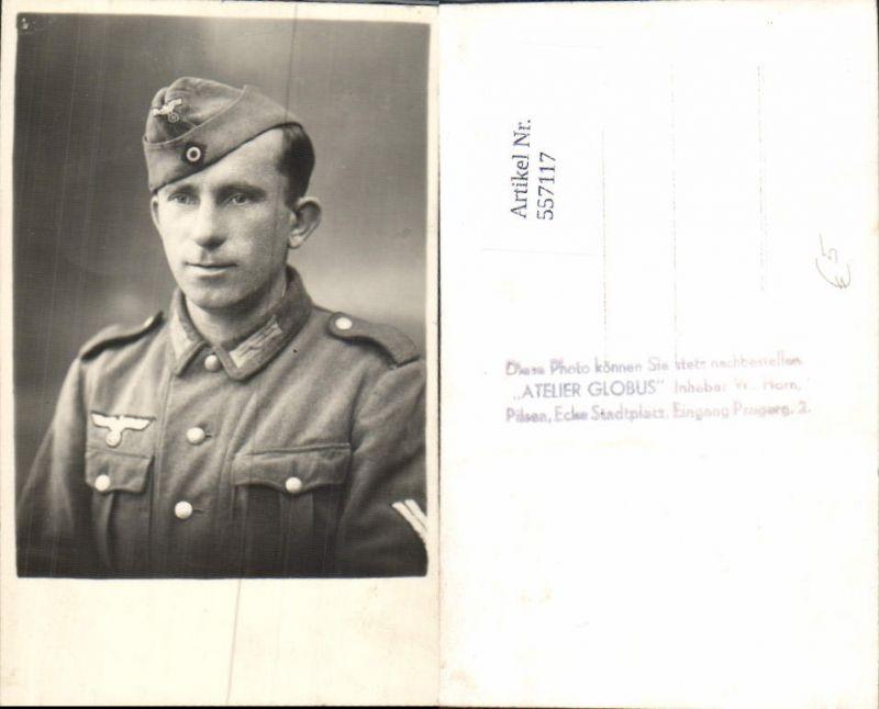 557117,Wehrmacht Soldat Uniform Portrait Luftwaffe pub Atelier Globus